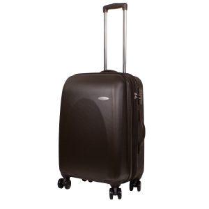Средний чемодан Galaxy коричневый