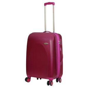 Средний чемодан Galaxy лиловый
