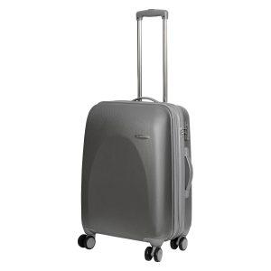 Средний чемодан Galaxy серебро