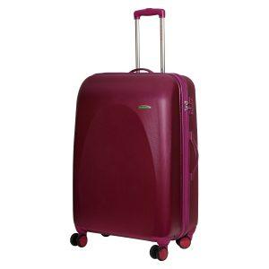 Большой чемодан Galaxy лиловый