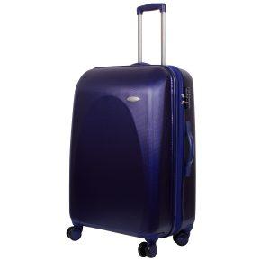 Большой чемодан Galaxy синий