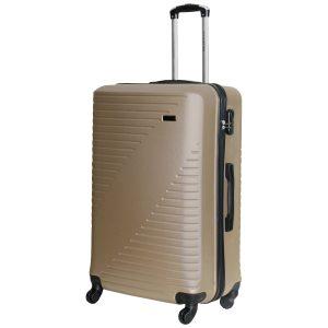 большой чемодан Las Vegas шампань