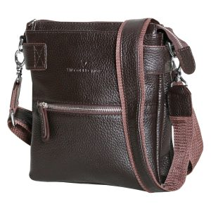 Мужская сумка 1424F коричневая