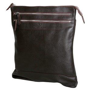 Мужская сумка 296F коричневая