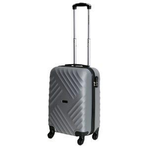 Маленький чемодан Chicago серебро