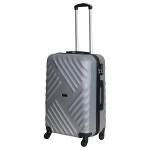 Средний чемодан Chicago серебро