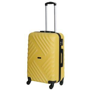 Средний чемодан Chicago желтый