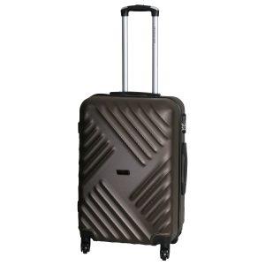 Средний чемодан Chicago коричневый