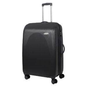 Большой чемодан Galaxy серый