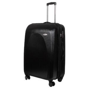 Большой чемодан Galaxy черный